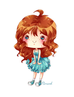 Sharon Simple Chibi by Vinvii
