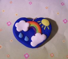 A weather charm by Barbarit