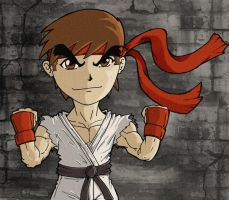 Mini Ryu by nemesis222