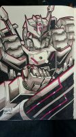 Marker Practice 10: IDW Transformers TARN by Natephoenix