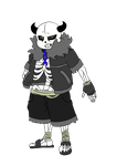 DemiTale: Sans (pacifist) by Crossoverdude