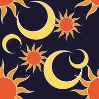 Tiles - Sun and Moon by ErinPtah