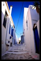 Walking around in Tinos Greece by etsap