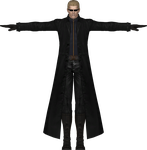 Wesker UMVSC 3 MODEL 3D by sidneymadmax