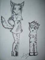 miss kitty and benny by OpheliaImmortal7