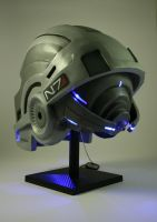 N7 Breather Helmet (back) by Ruun