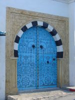 a door from tunisia by CHAFRA