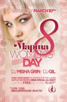 flyer 8march women's day by sounddecor