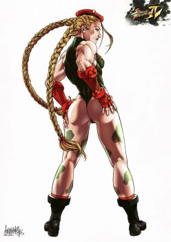 Cammy White color by garnabiuth