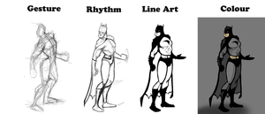 Comic Character - Process by Nicetti