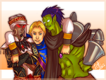 WoW-3 Princes by ShiChel