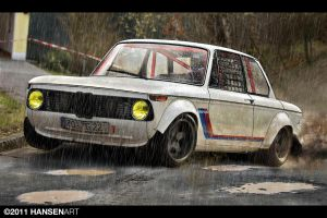 BMW 2002 wet race by ilPoli