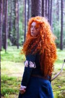 Merida in the forest by Zoisite-Virupaksha