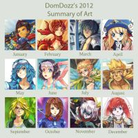DomDozz's 2012 Summary of Art by DomDozz