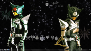 KR Kabuto Rainmeter Mini-Suite by StrawHatterAlice
