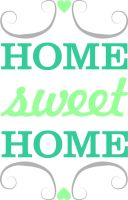 Home Sweet Home Print by ClementineCreative