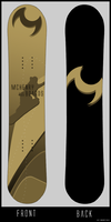 vector snowboard by Henry06x