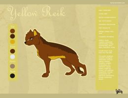Reference sheet- Yellow by KaXie