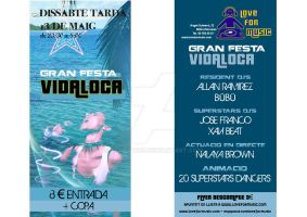 Flyer Discoteca Love For Music by tonetto17