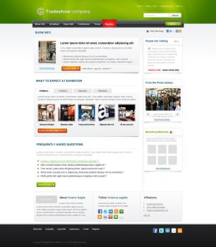 Trade Show Company by thewebest
