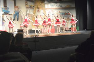 Dance Company Christmas Show,Santa's Tap Girls4 by Miss-Tbones
