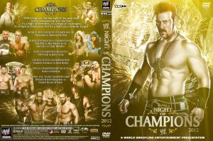 WWE Night of Champions 2012 DVD Cover V3 by Chirantha