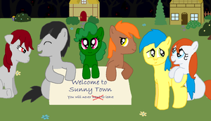 Welcome to Sunny Town by Graciegirl328