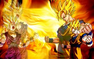 DBZ wallpaper 1440X900 by Ryan-Cheale