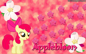 Applebloom Wallpaper. by BC-Programming