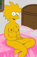 Lisa at home by HomerJySimpson
