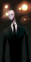 Slenderman by RainDante