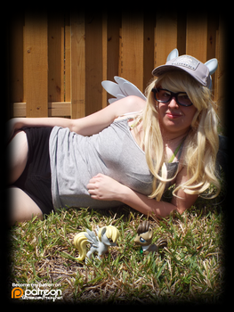 (MLP) Derpy Hooves Chillin' (Cosplay) by KrazyKari
