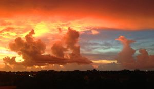 Sunset over Fort Myers by ncjefffl