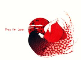 Pray for Japan by Sorina-chan