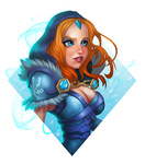 Crystal Maiden by anatheme