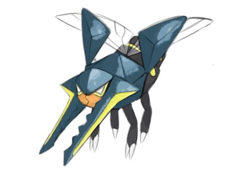 Vikavolt by UltimateUmbreon3