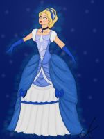 Historic Blue Fairy by aniek90