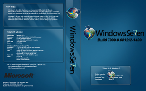 Windows 7 Cover for Vietnamese by NhatPG