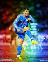 Cristiano Ronaldo Real Madrid 2014 by jafarjeef