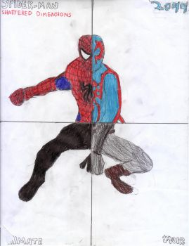 Spider-man: Shattered Dimensions by Tailungess