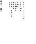 FEZ language decyphered (upright version) by Silvador