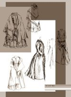 Historical costumes by Basike-Crowolf