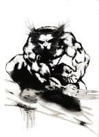 Sam Kieth's Wolverine by Ludy83 by ludy83