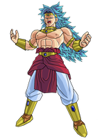 RSSJ3 Broly by brolyeuphyfusion9500