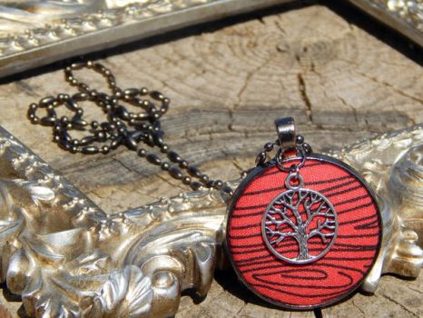 Tree of Life Necklace by dotdonahue