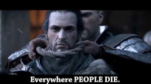 Everywhere PEOPLE DIE by RoflAndrea