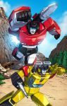 Sideswipe and Sunstreaker by Dan-the-artguy