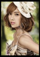 Jessica-SNSD Digital Painting. by chowyj