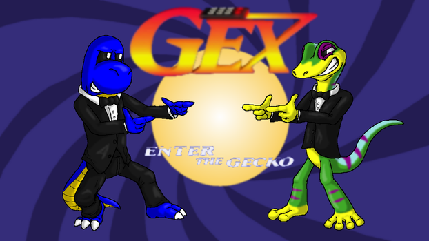 Gex: Enter the Gecko Title Card by Squeaky-the-Zepa