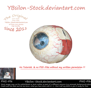 Eye-ball by YBsilon-Stock by YBsilon-Stock